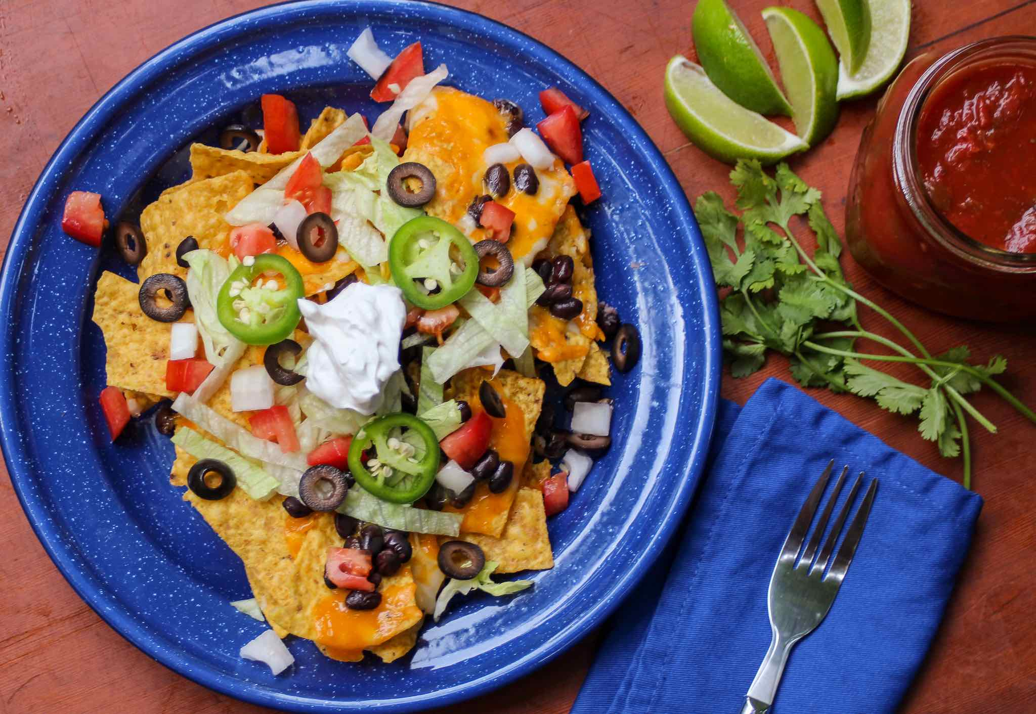 Dutch Oven Nachos