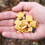easy to make hiking chex mix