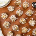 no bake coconut date ball cookies