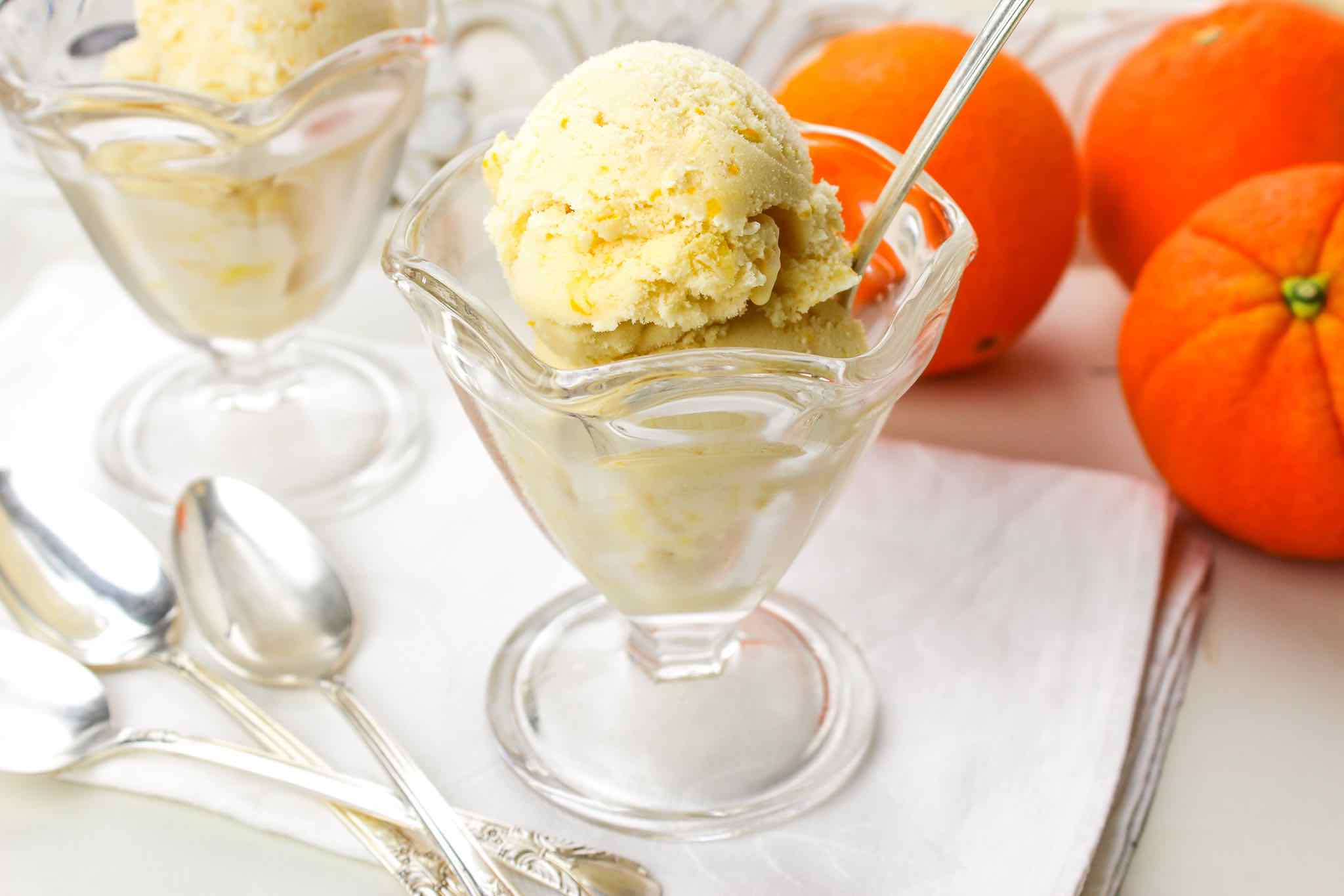 Orange Pineapple Ice Cream